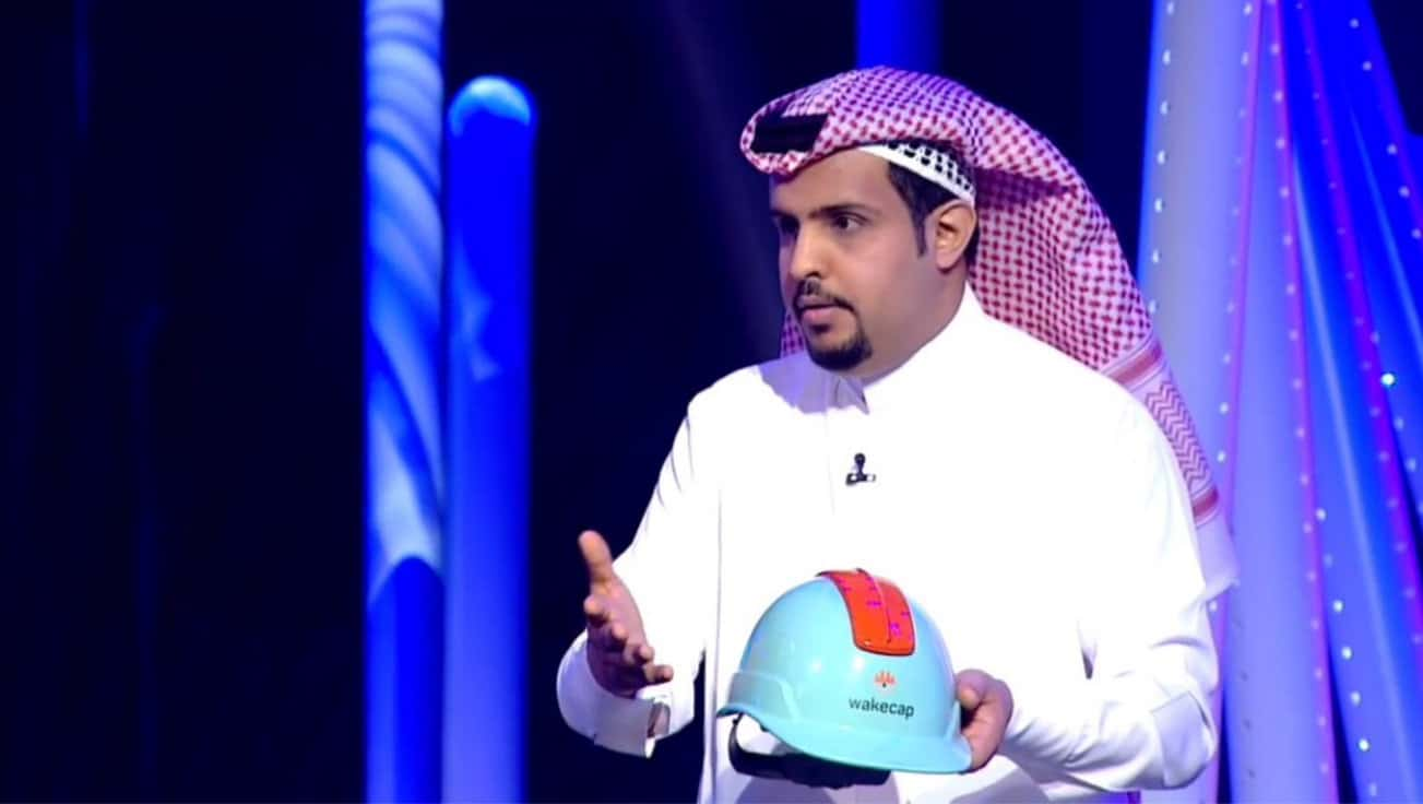 صورة مقابلة مع حسن البلوي عن نجوم العلوم