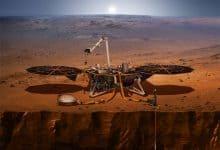 صورة المركبة إنسايت InSight على المريخ