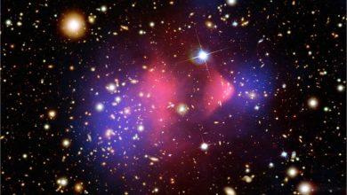 صورة SW155 مجرات لا تحتوي على المادة الداكنة